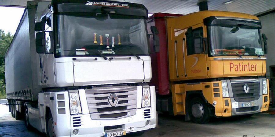 camioneros, portugueses, ahorra, 180, repostar, España,