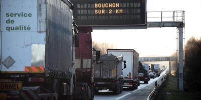 Francia, ecotasa, camiones, extranjeros,