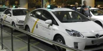 taxistas, Sevilla, paro, seguimiento, manifestación,