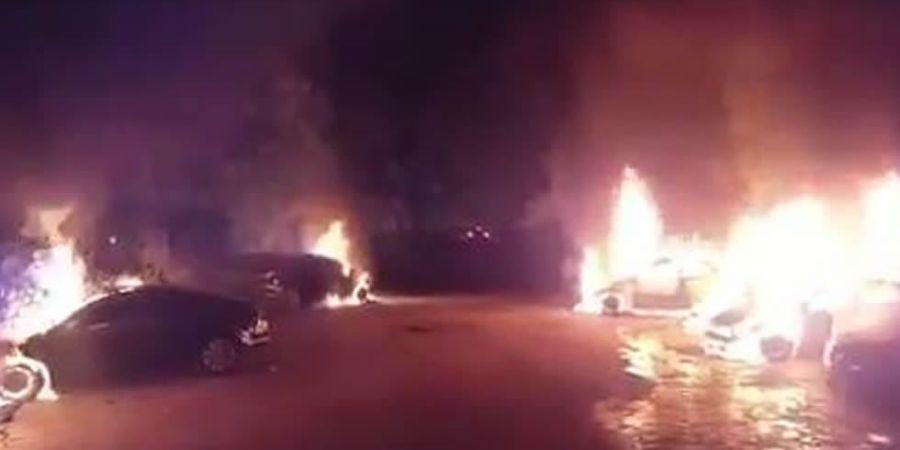 reapertura, diligencias, incendio, coches, Cabify, dos, taxistas, investigados,