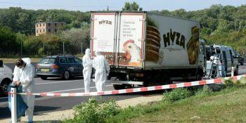 cadena perpetua, responsables, muerte, refugiados, camión, frigorífico,