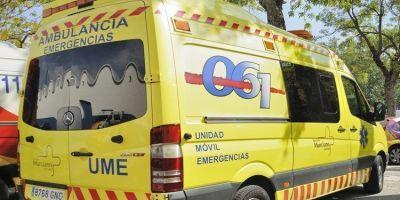 fallece, camionero, volcar, Alhama de Murcia, A-7,