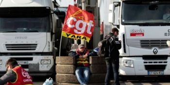 transportista, desinformado, perder, espacio, seguro, opinión, debate, transporte, huelga, camioneros,
