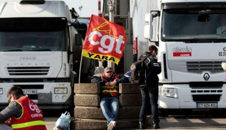 sindicatos, CGT, FO, convocatoria, huelga, transporte, Francia,