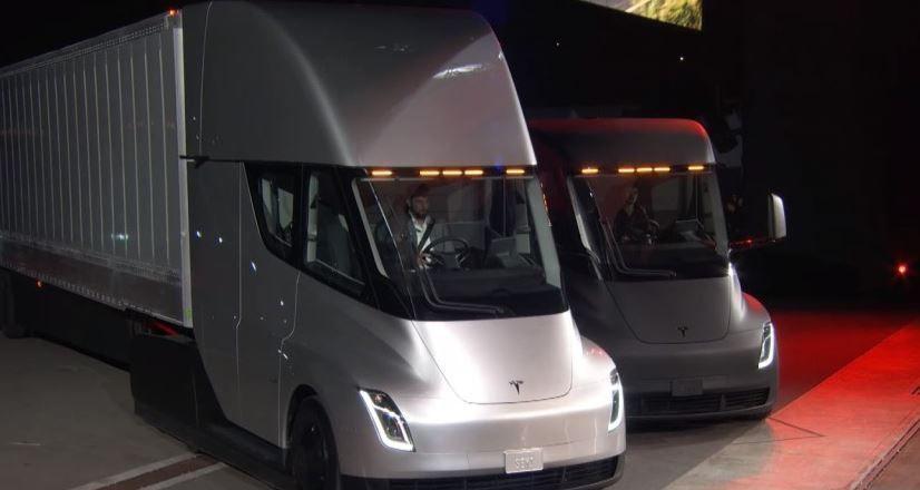 Travel Retail Norway, pedido, 2 camiones, Tesla Semi, fabricantes, empresas,