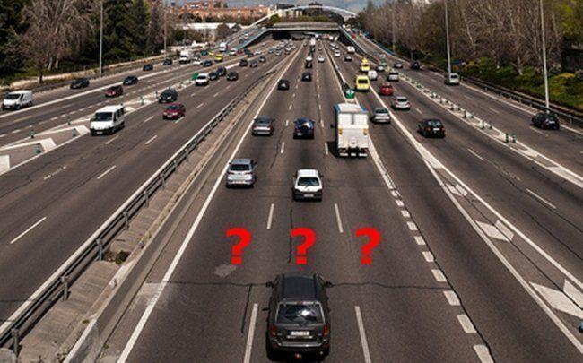 circular, carril, central, autopistas, multas,
