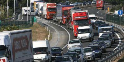 restricciones, camiones, Semana Santa, 2018, España, Italia, Francia,