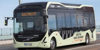 Volvo, Singapur, autobús, eléctrico, autónomo,