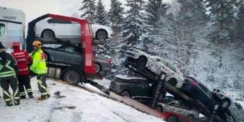 accidente, camión, prototipos, BMW,