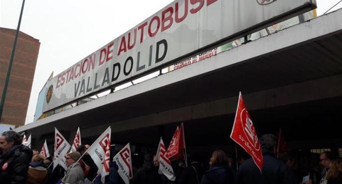 sindicatos, convenio, transporte, viajeros, Valladolid,