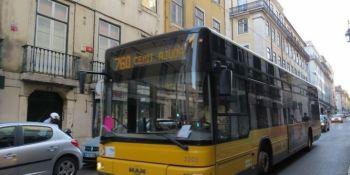 autobuses, Lisboa, semáforos, prioridad, ciudad, puntualidad,