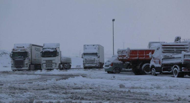 problemas, nieve, A-67, Cantabria,