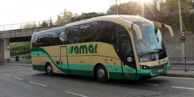 Autobuses, Samar, estadounidense, Logitrans,