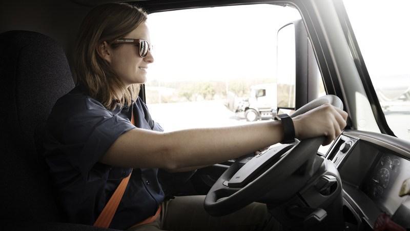 Volvo, conducción, autónoma, camiones,