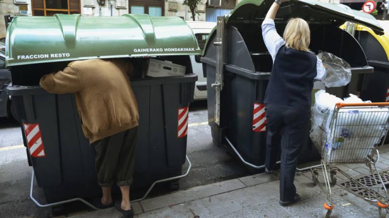 España, alimentos, frescos, basura, supermercados, distribución,