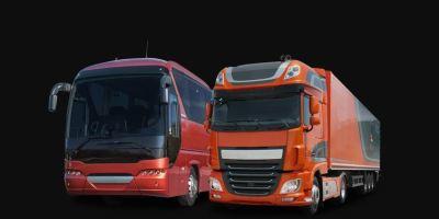 ventas, camiones, autobuses, Febrero, Europa,