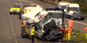 camioneros, condenados, accidente, Reino Unido