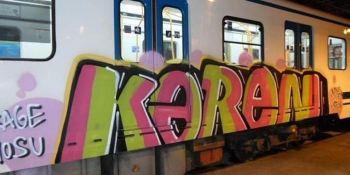 grafitis, gosto, transporte, público,
