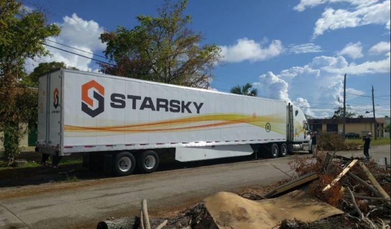 norteamericana, Starsky, camión, autonomo, primera, viaje,