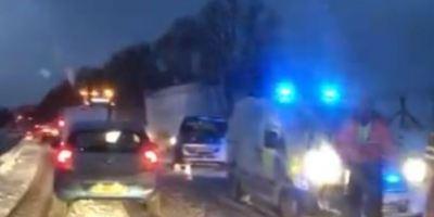 temporal, nieve, Reino Unido, accidentes, viento,