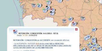 Cortada, A-6, accidente, Valladolid,