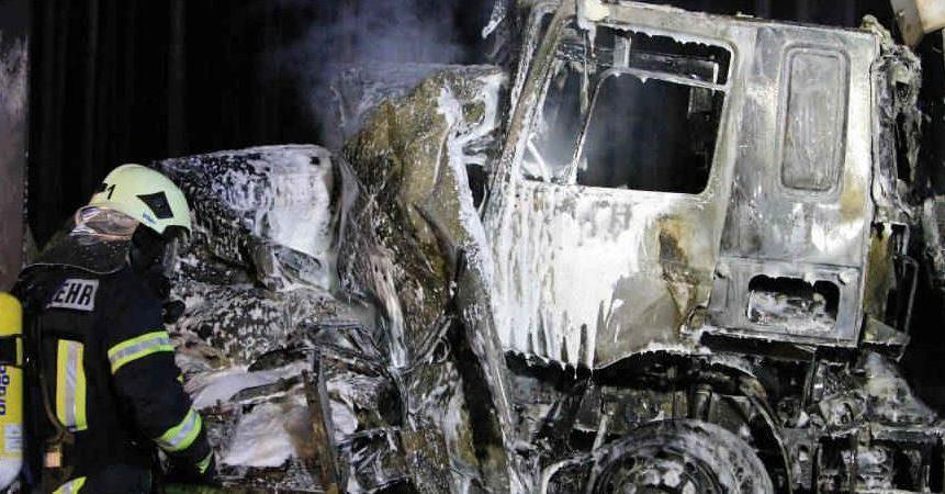 fallecido, persona, A-12, accidente, camiones, Alemania,