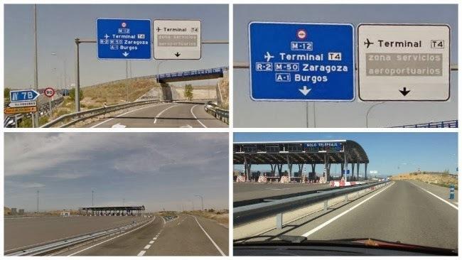 Fomento, rescate, gestión, autopista, M-12, Aeropuerto, Barajas