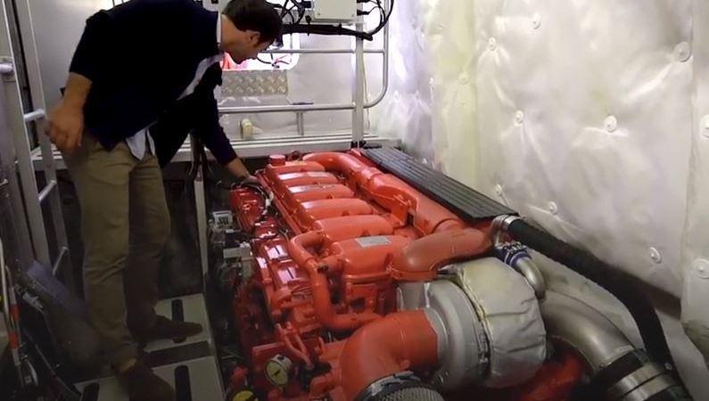 motor, Scania, barco, pasajeros, mar, velocidad,