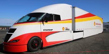 Shell, AirFlow Trucks, Starship, ultraeficiente,
