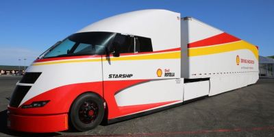 Shell, AirFlow Trucks, Starship, ultraeficiente,