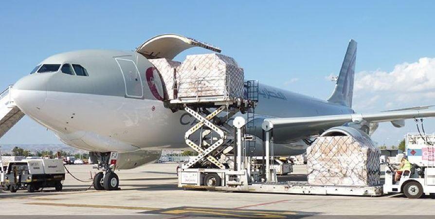 aeropuerto, Zaragoza, segundo, España, carga,