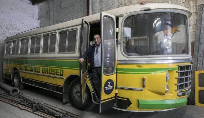 autobús, conservado, sal, mina, Remolinos,
