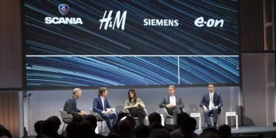 pesado, E.ON, Grupo H&M, Siemens, Scania, coalición, descarbonización, transporte,
