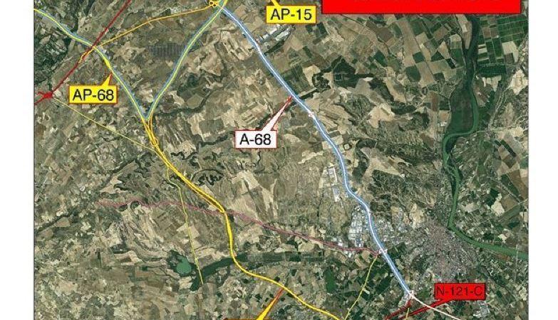 Navarra, tramo, N-121-C. AP-68, AP-15