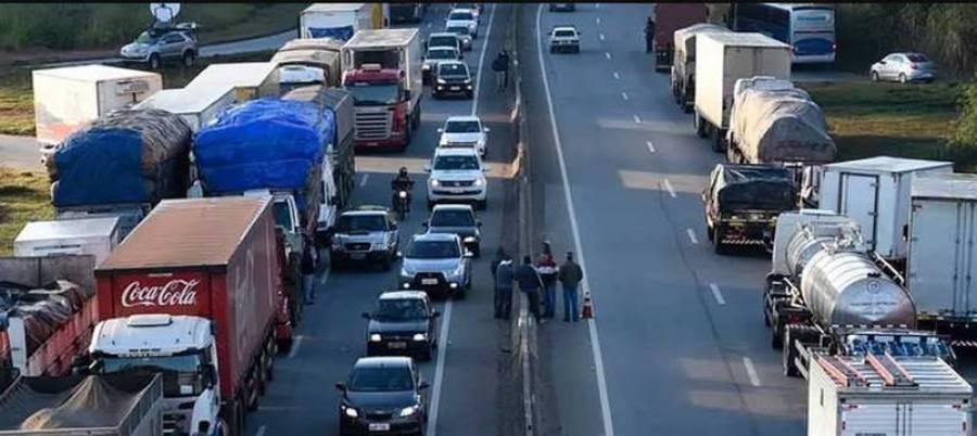 camioneros, huelga, Brasil, precio, combustible,