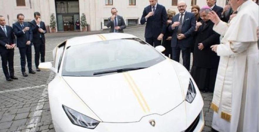 empresa murcia, Lamborghini, Papa Francisco,