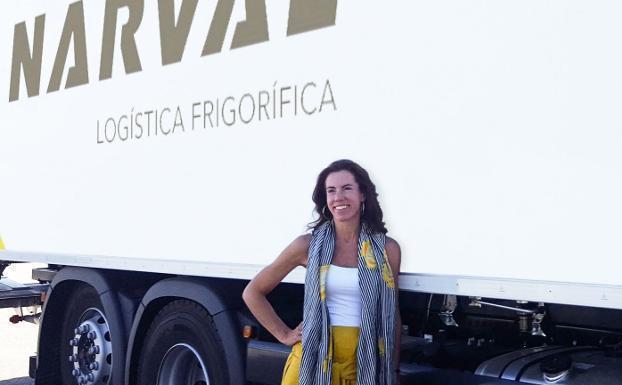 Marta Sánchez, mando, ruta, camiones,