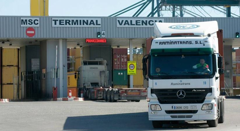 raminatrans, empresa, puerto, Castellon, contenedores,