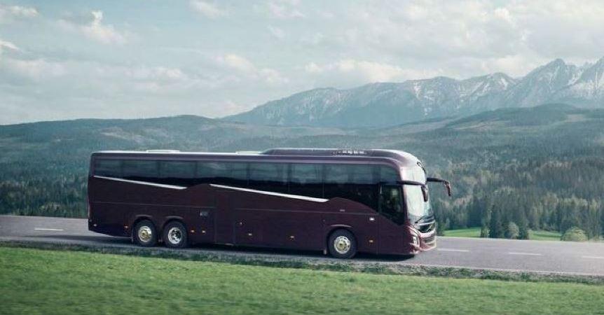 nuevos, autobuses, Volvo, gama, 9000,