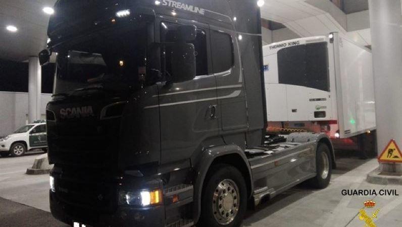 hachís, detenido, camionero, camión puerto de Algeciras,