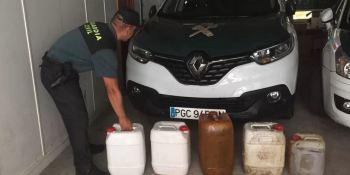 Pontevedra, investigan, hombres, robo, gasoil, camiones,