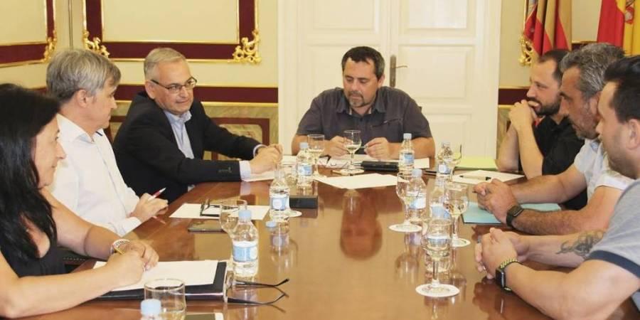 Secretario autonómico, Josep Vicent Boira, posturas, sector, taxi,