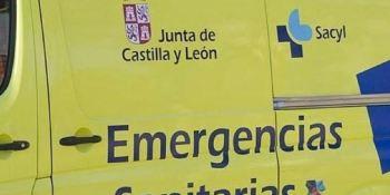 herido, camionero ,volcar, camión, Burgos
