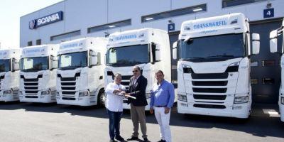Transportes, Antonio Marfil S.L. Scania, camiones, S500, flota, empresas,