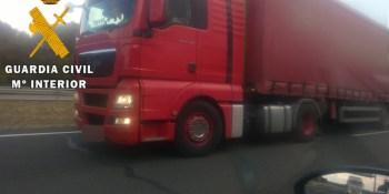localizado, camionero, sentido, contrario, kilómetro, AP-15,