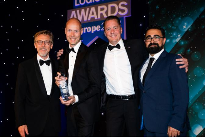 Scania, gana, Greener Supply Chain Award
