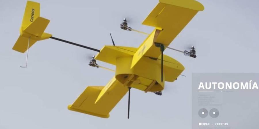 Correos, prueba, drones, híbridos, situaciones, emergencia, difícil, acceso,