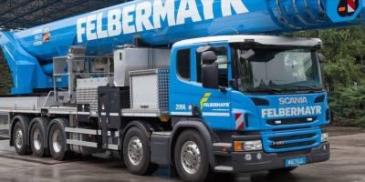 Scania, Felbermayr, transporte, especial,