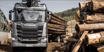 Camiones, madera, terrenos, transportes, Rancon, Scania,