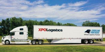 XPO Logistics, patrocinador, oficial, equipo, fútbol, profesional, Carolina Panters,